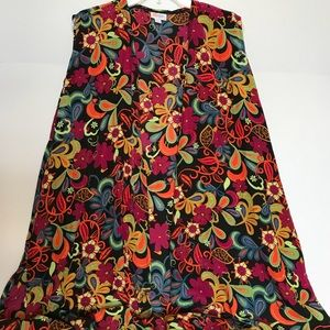 Other - Lularoe floral joy vest XL like new